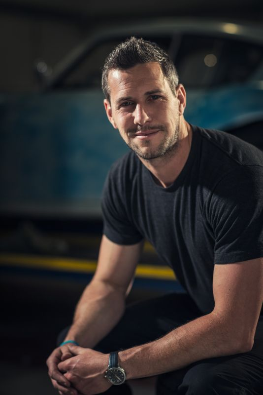 Ant Anstead, Harrison's Fund patron and classic car aficionado