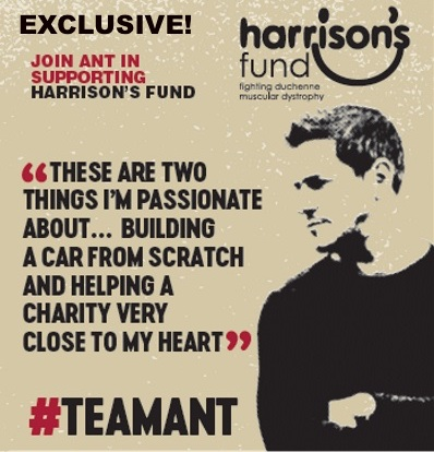 Ant Anstead for Harrison's Fund