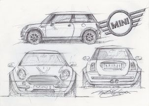 Frank Stephenson Design Mini