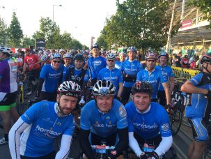2015 Ride London Harrison's Fund Team